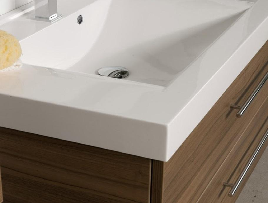 Starlight Handle Basin nut detail
